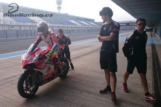 Ondra Ježek testoval v Jerezu