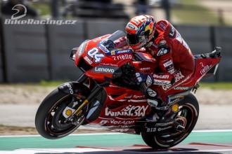 Dovizioso do čela MotoGP