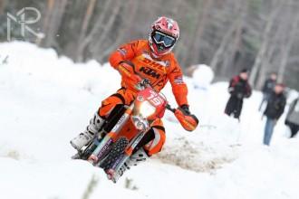 Jezdci rakouské KTM byli ve Švédsku vidět