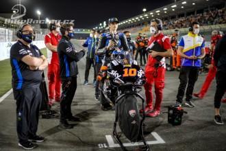 Marini v MotoGP premiéře nebodoval
