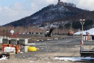 Začaly práce na rekonstrukci závodní dráhy