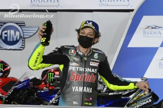 Rossi odstartuje do GP Kataru z 2. řady