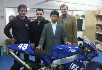 Team JiR Moto2 a TSR společně do roku 2010