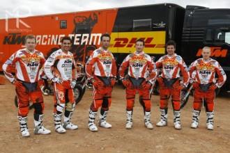 Továrna KTM představila endurový tým
