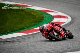 Ducati chce v Silverstone pódium