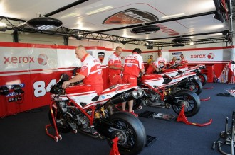 Strukturální změny u týmu Xerox Ducati