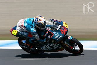 GP Indianapolis  kvalifikace 125cc