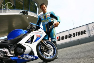 Capirossi prezentoval nové pneu Bridgestone