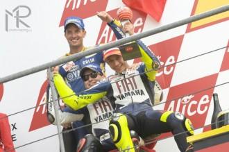 90. vítězství pro Rossiho