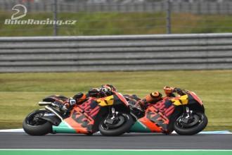 Oba jezdci továrny KTM bodovali
