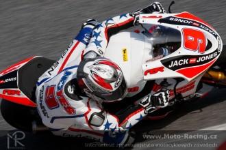 Test 125/Moto2  Jerez  (neděle) 2.den