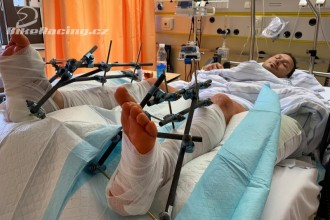 Libor Podmol si zlomil obě nohy