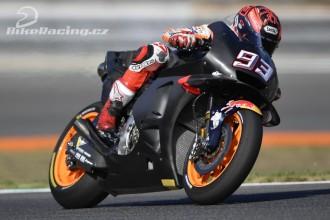 Marquez nejrychlejší, Pedrosa třetí