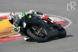 Poslední evropské testy Kawasaki