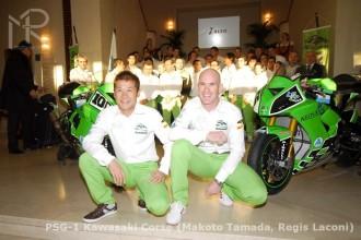 Kawasaki představila svůj superbikový tým