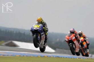 Rossi a Lorenzo do Le Mans