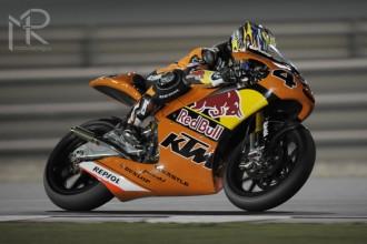 KTM v Kataru s dobrým výsledkem testování