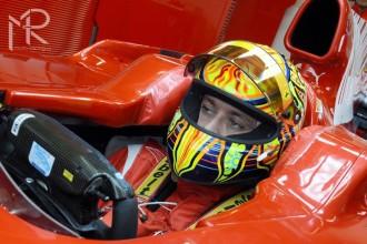 Rossi zahájil barcelonský test
