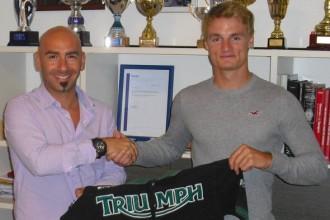 Davies s McCoyem na Triumphu
