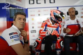 Guidotti: Cíl je vyhrát závod