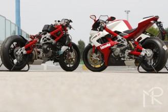 Do MotoGP2 také italská Bimota