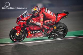 Ducati ovládly páteční tréninky