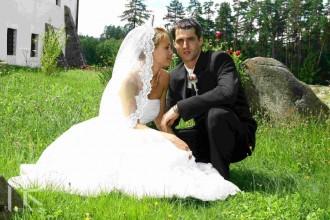 Fotografie ze svatby Matěje Smrže