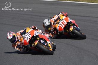 Pedrosa a Marquez před Phillip Islandem
