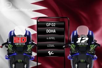 Piloti Yamahy mají za cíl pódium v GP Doha