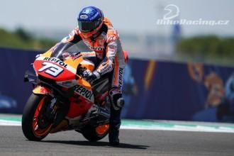Alex Marquez poprvé v top ten MotoGP