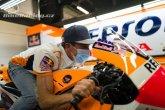 Marc Marquez se vrátil do paddocku MotoGP