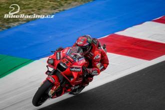 Pozitivní první den pro Ducati