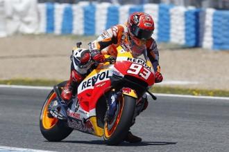 V testu nejrychlejší Marquez