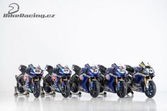 Superbiková Yamaha ukázala letošní barvy