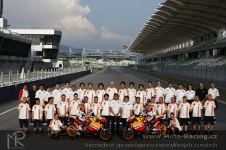 Fotogalerie  představení Repsol Honda Teamu