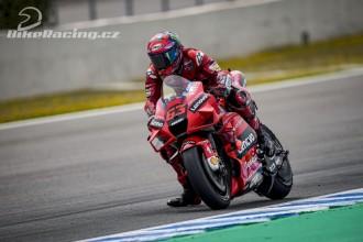 U Ducati panuje po testu spokojenost