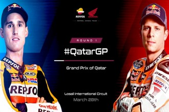 Honda v Kataru s Espargarem a Bradlem