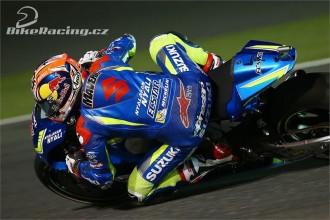 Jezdci Suzuki zaznamenali zlepšení