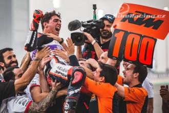 Albert Arenas zajistil KTM sté vítězství