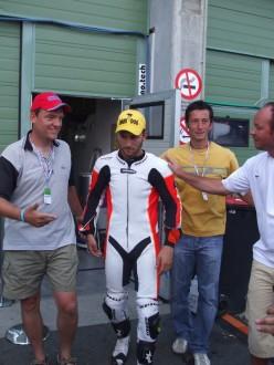 Mattia Pasini opět otestuje Ducati
