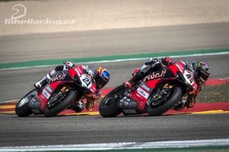 Dobrá práce jezdců Ducati