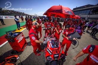 Ducati před druhým domácím závodem