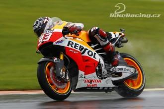 Marquez testoval nové brzdy
