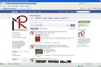 Moto-Racing.cz na facebooku