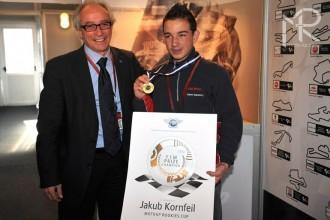Jakub Kornfeil oceněn za vítězství v Red Bullu