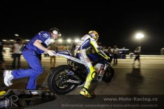 MotoGP test 2010 Katar  čtvrtek