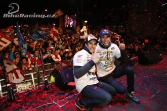 Bratři Marquezové oslavili titul