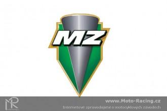 West s motocyklem MZ spokojený