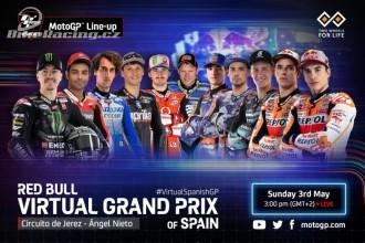 Startovní listiny virtuální GP Španělska