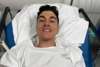 Vinales se zranil při tréninku